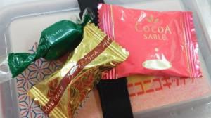 20131025チョコレートとココアサブレ