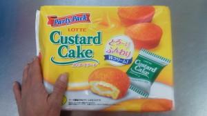 20140115カスタードケーキ
